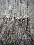 Fringe on Summer Wheat- A Three Season Scarf by Loom N Essence