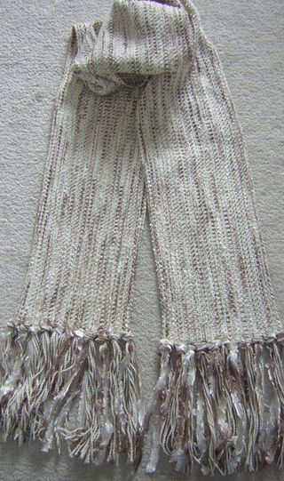 Summer Wheat - A Three Season Scarf by Loom N Essence