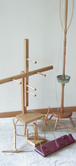 Will Taylor's Handcrafted Spinning Tools Available thru Loom N Essence