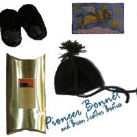 Buffalo Gold Pioneer Bonnet & Booties Kit at Loom N Essence