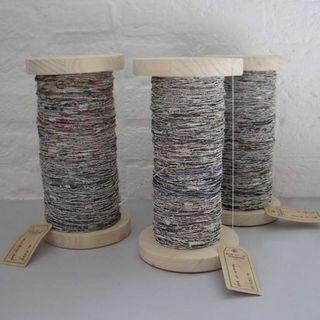 Paper Yarn by Van Tiem Project Indruk
