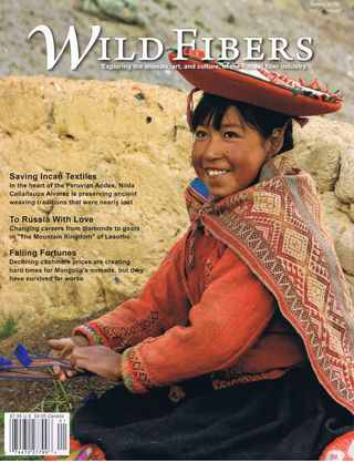 Wild Fibers Magazine -Spring 2010 Issue