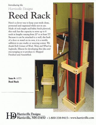 Harrisville Reed Rack