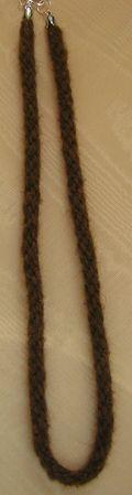 Buffalo Kumihimo Corded Necklace by Rowena Tank 005