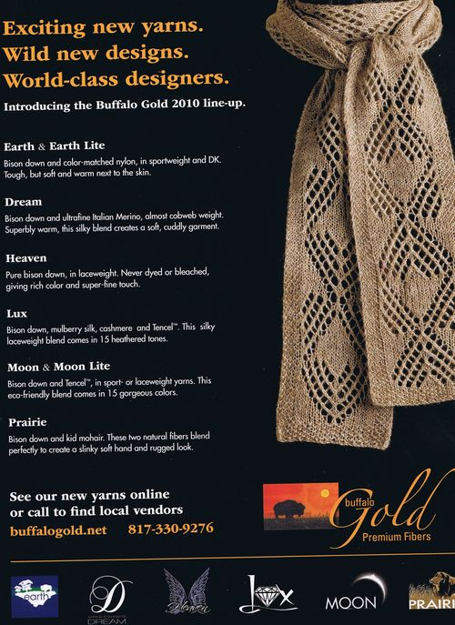 Buffalo Gold - 2010 Yarns