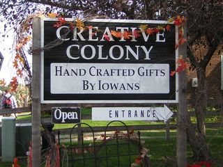 Creative Colony Sign