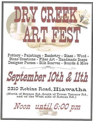Dry Creek Art Fest - Poster