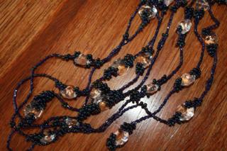 Doris Day Lamp Bead Necklace