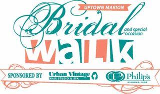 Bridal Walk This Weekend