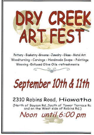 Dry Creek Art Fest 2016