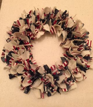 Upcycled Wreath by Harvest Sewn